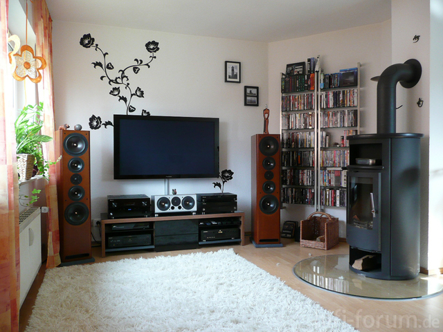 mein neues wohnzimmer 2 asw cantius heimkino jahnke marantz pioneer sony surround. Black Bedroom Furniture Sets. Home Design Ideas