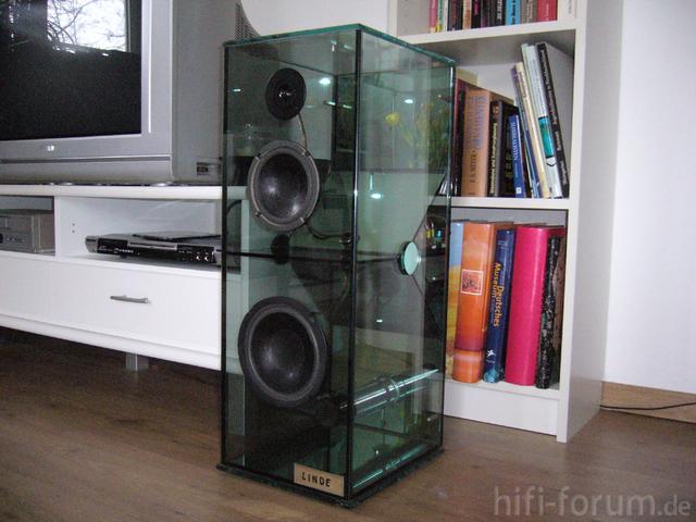 Glasbox Linde