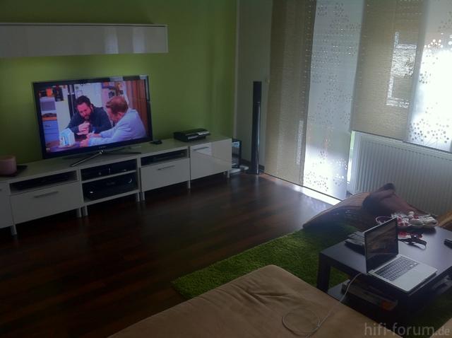 BILDER von euren SAMSUNG LCD Wohnkinos, Samsung   HIFI FORUM