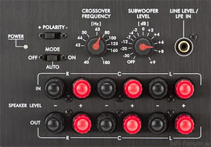 Elac Sub 111 2 ESP Anschlussterminal 300x209