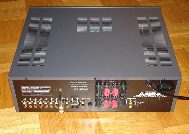 NAD C 370 Back
