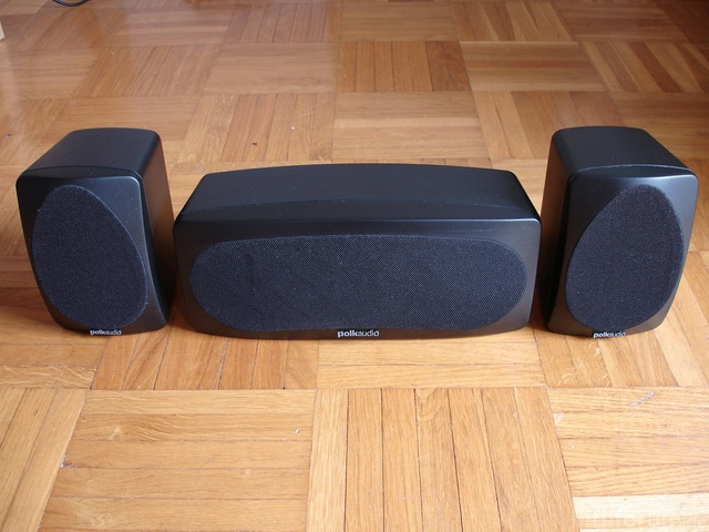 Polk Audio RM6000 Sat + Center