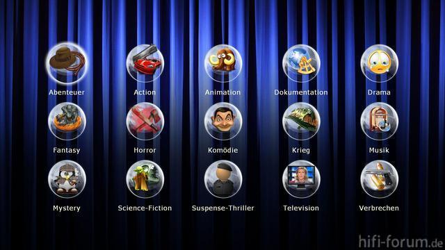 Genre Auswahl 10423