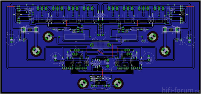 Amplifier V2.1 Board