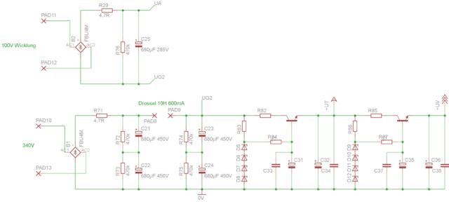 Reste eines 4x EL34 Mono Verstärkers, Röhrengeräte - HIFI-FORUM