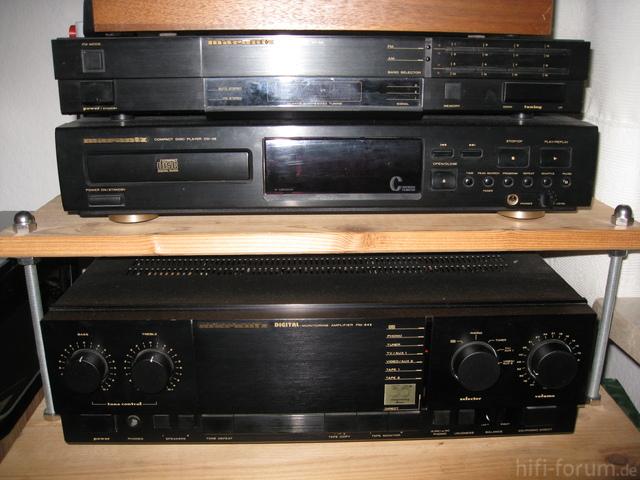 Marantz PM-54 II, Marantz CD-46, Marantz ST-35