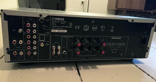 yamaha r s 700 rs 700 stereo receiver verst rker. Black Bedroom Furniture Sets. Home Design Ideas