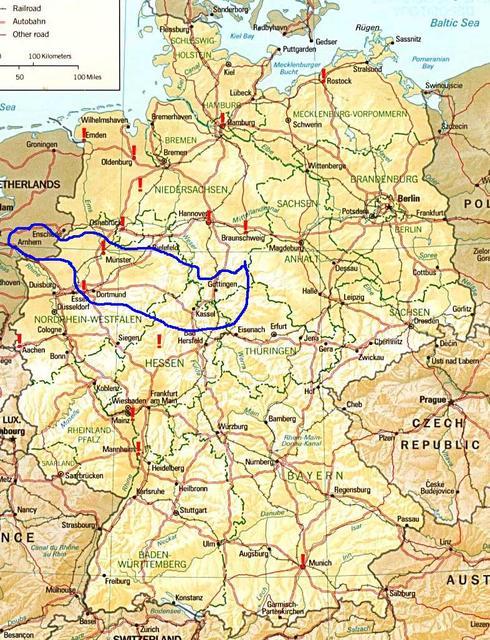 Deutschlandkarte 2