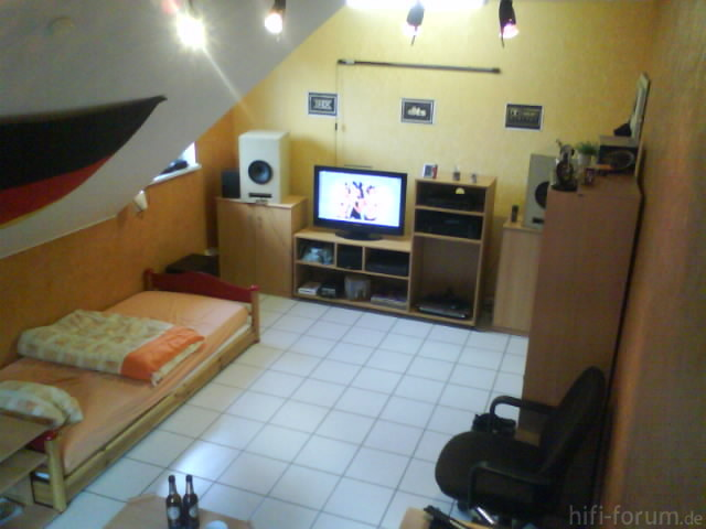 Mein Zimmer (Vogelansicht)
