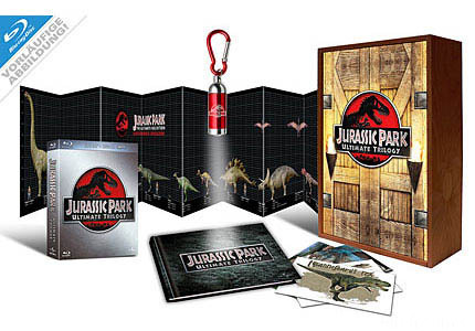 Big  Jurassic Park Ultimate Trilogy Holzbox