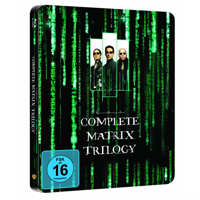 Big  Matrix Trilogie Steelbook