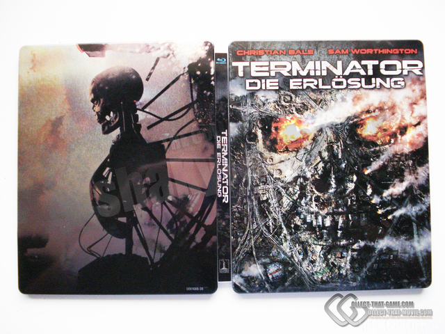 Blu Ray Terminator 4 Salvation Directors Cut Steelbook Full2