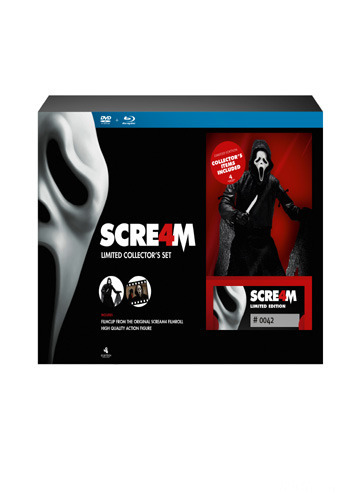 Scream 4 Blu Ray Dvd Ltd Docka