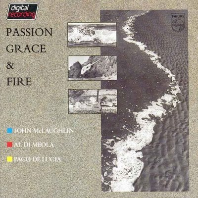 [AllCDCovers] Al Di Meola John Mclaughlin Paco De Lucia Passion Grace Fire 2008 Retail Cd Front