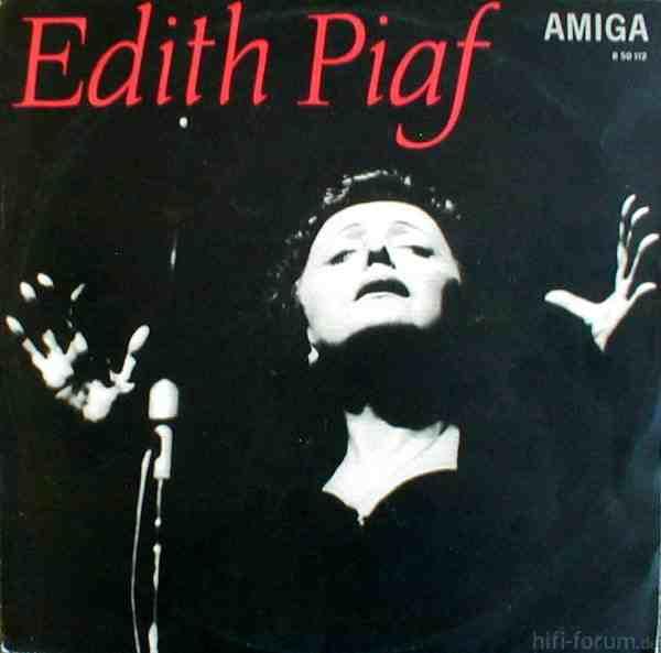 Edith Piaf - Amigapressung