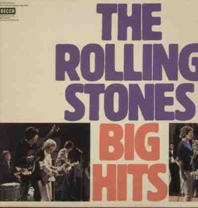 The Rolling Stones Big Hits(decca)