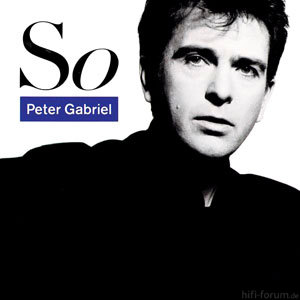 Peter Gabriel So CD Cover