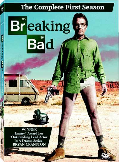 Breaking Bad Season 1 DVD Cover MITMVC