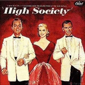 High Society Ost Cover