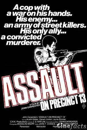 John Carpenters Assault Anschlag Bei Nacht Plakat 1
