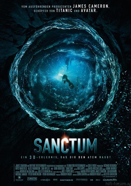 Sanctum 3D Hauptplakat