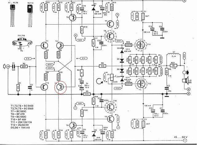 Elektor Mini Crescendo Schaltbild 6363