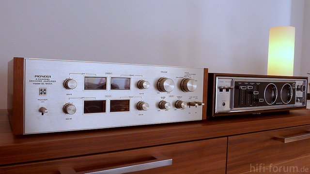 Pioneer QL-600A + National SS-7020L