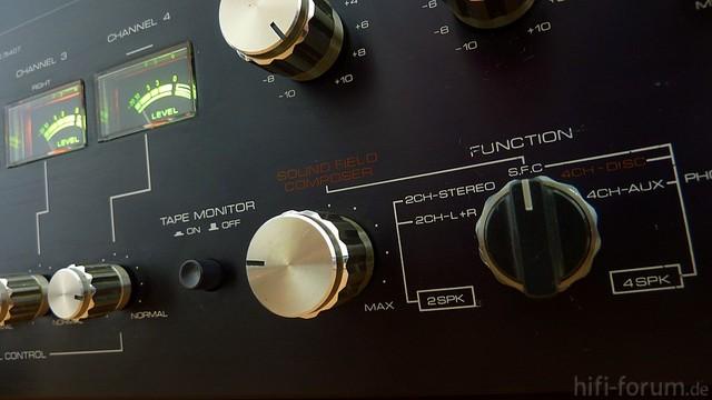 S.F.C. (Sound Field Composer) Schaltung JVC MCA-V7E