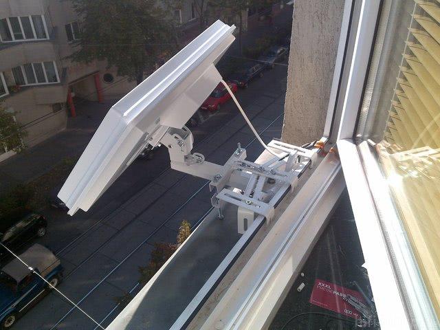 H30 Selfsat Fenstermontage Eigenbau