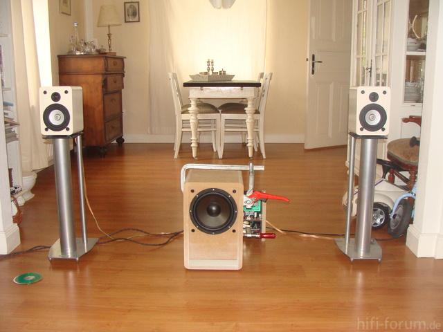 AW2000 Sub Unlackiert Soundcheck