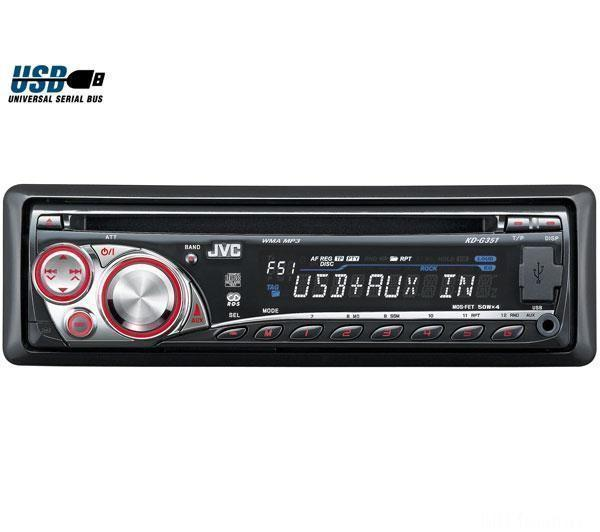 JVC Autoradio CD MP3 USB KD G351E