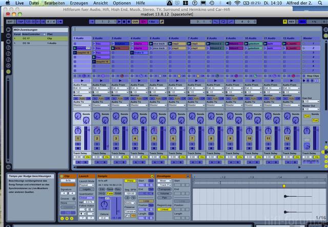Ableton Live Midi Zuweisung