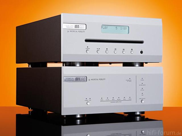 M1 CD-Transport Plus DAC/PRE Von Musical Fidelity Ca 1.000 Pfund