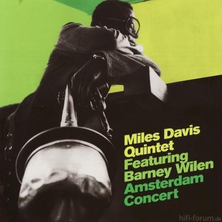 Miles Davis Quintet Featuring Barney Wilen   Amsterdam Concert