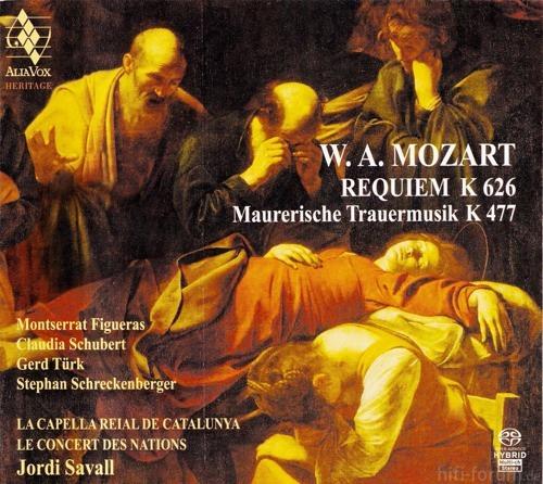 Mozart   Maurerische Trauermusik K477, Requiem K626