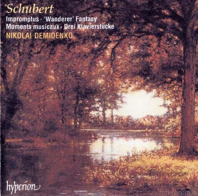 Schubert, Impromptus   \'\'Wanderer\'\' Fantasy   Moments Musicaux   Drei Klavierstucke