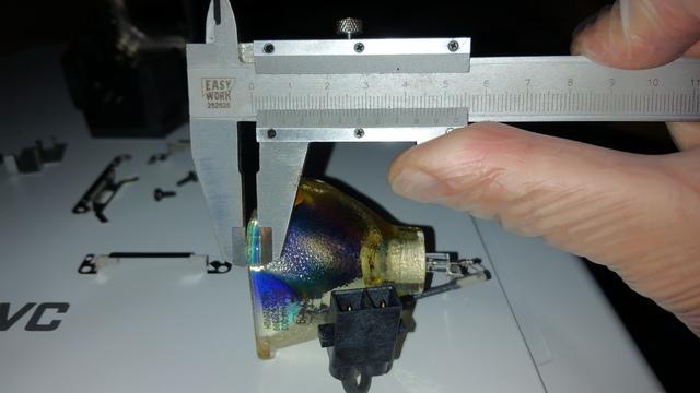 Maße JVC X30 orig. Lampe