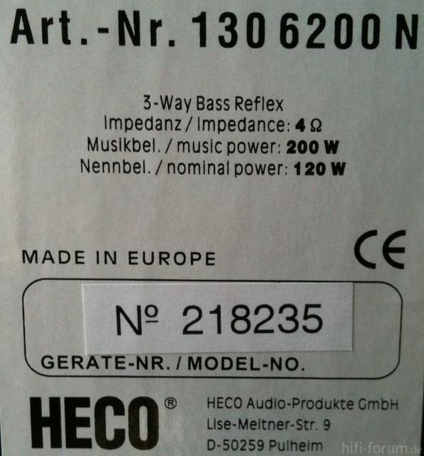 2 Lautsprecher Heco Foto Bild 62896776