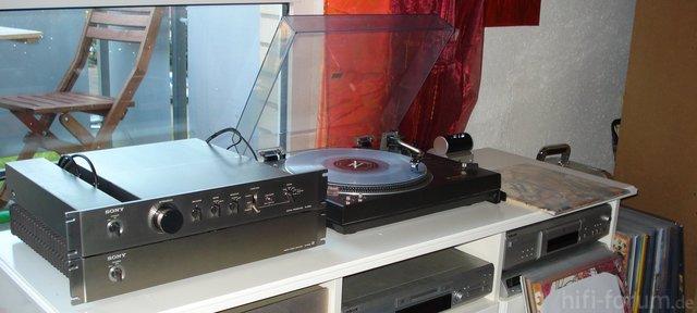 Sony TA-N86B, TA-E86B, Technics SL-1510, Shure A97xE