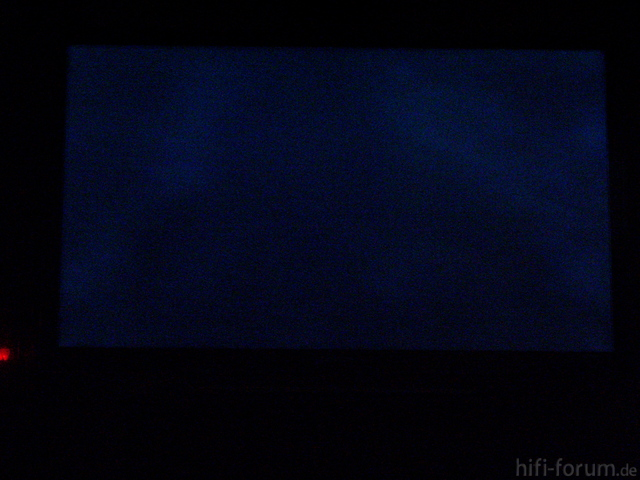UE55C6700 - Clouding