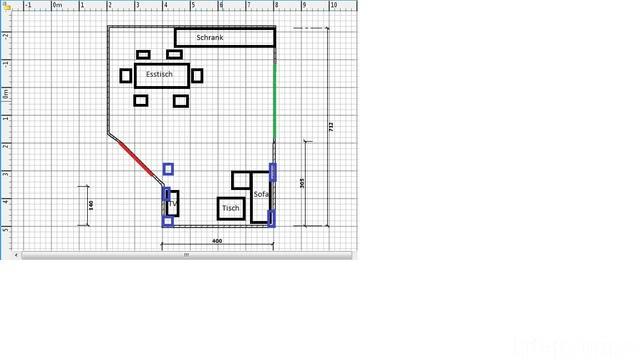 Wohnzimmer L Formig Boxen Richtig Aufstellen Lautsprecher Hifi