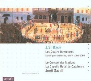 Bach   4 Orchestral Suites   Jordi Savall