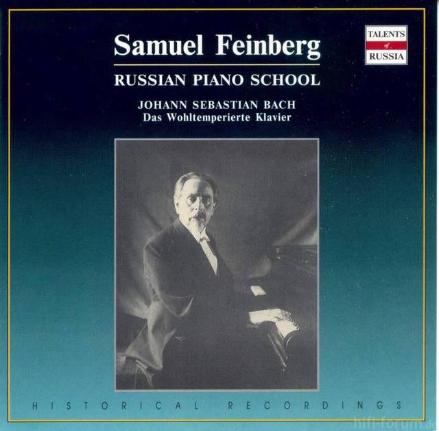 Bach Feinberg