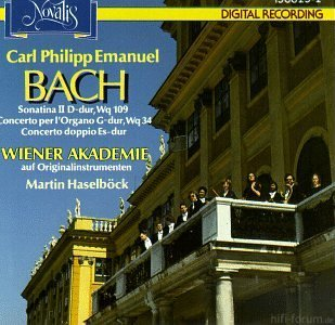 Carl Philipp Emanuel Bach  Sonatina II In D Major, Wq  109   Concerto Per L\'Organo In G Major, Wq