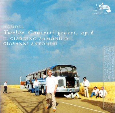 Cd Haendel Il Giardino Armonico Copia