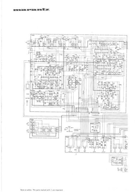 Seite 1 - Marantz Schematic Diagram For Model SR7100DC