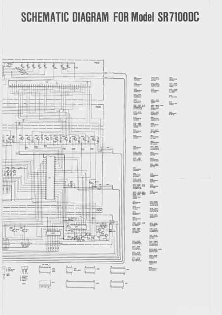Seite 3 - Marantz Schematic Diagram For Model SR7100DC