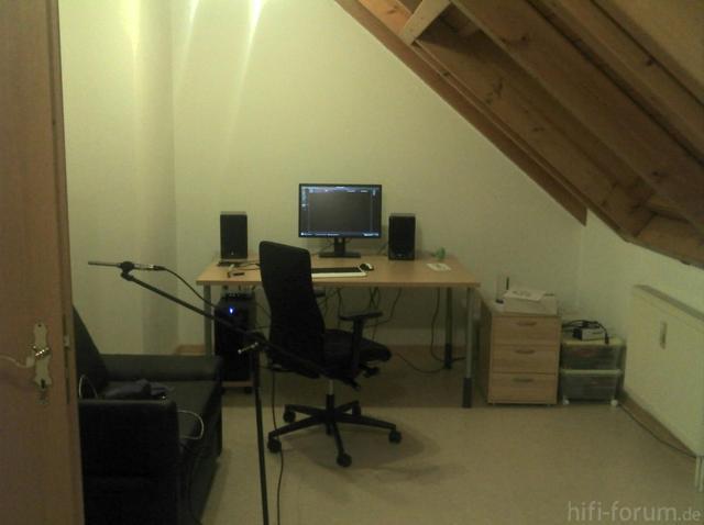 Wand Mit Schreibtisch