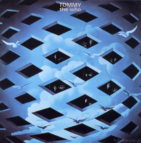 Cover The Who Tommy 1969