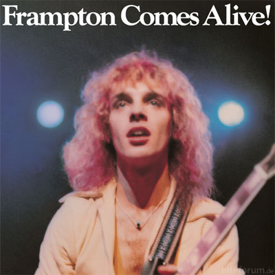 Peter Frampton Frampton Comes Alive Front